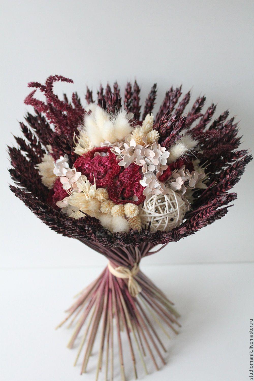 Букет сухоцветы купить розы пермь купить дешево