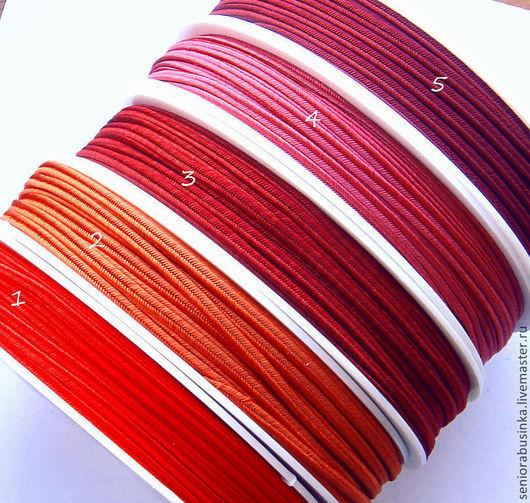 """Шитье ручной работы. Ярмарка Мастеров - ручная работа. Купить Сутаж. """"Осенние листья"""". Handmade. Ярко-красный, оранжевый"""