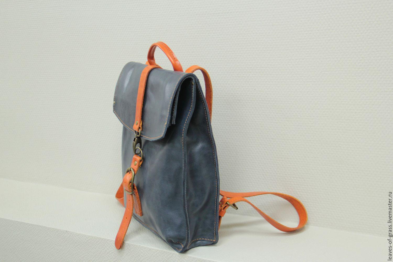 Как сделать кожаный рюкзак своими руками 35