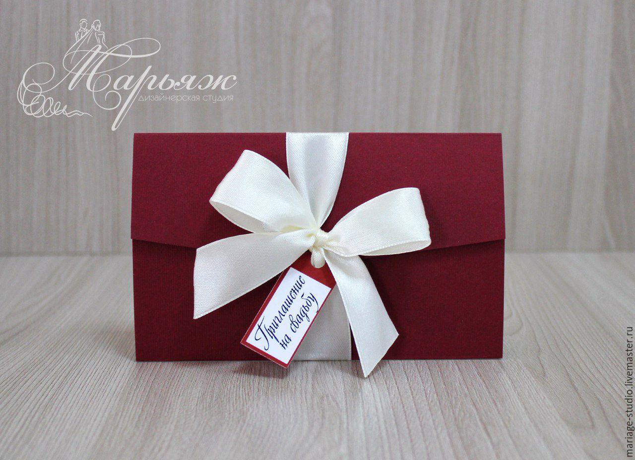Приглашения на свадьбу ручной работы в Москве и Санкт 59