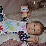 Куклы и игрушки ручной работы. Ярмарка Мастеров - ручная работа Кукла реборн Тосенька. Handmade.