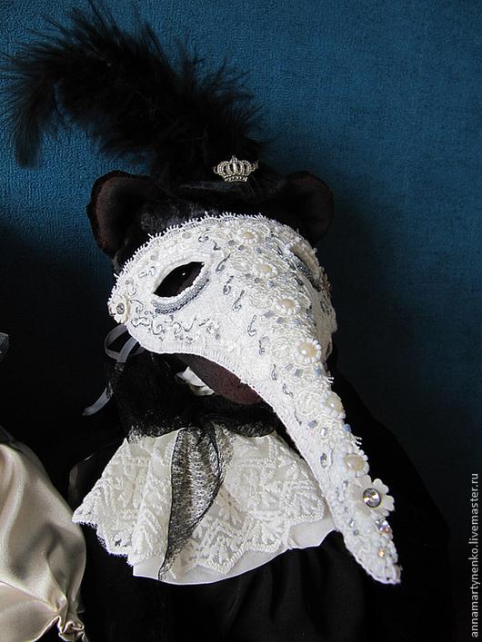 Мишки Тедди ручной работы. Ярмарка Мастеров - ручная работа. Купить Шарль - коллекционный плюшевый медведь. Handmade. Черный, фурнитура