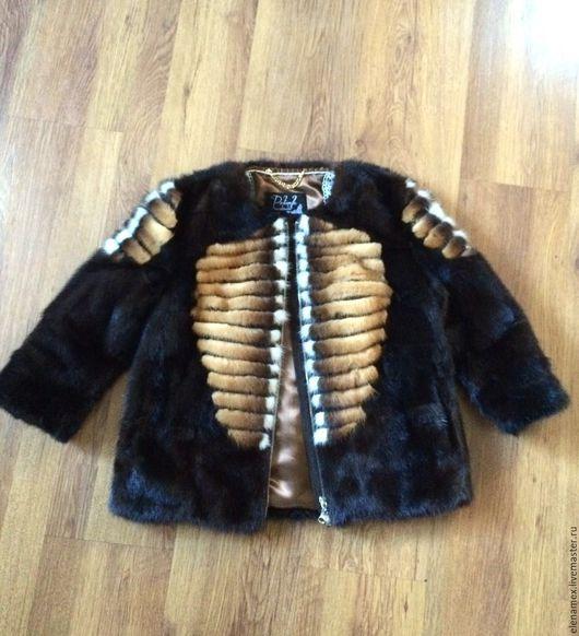 Верхняя одежда ручной работы. Ярмарка Мастеров - ручная работа. Купить Куртка из норки.. Handmade. Шуба, изделия из меха, вналичии