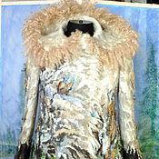 Одежда ручной работы. Ярмарка Мастеров - ручная работа Валяный жакет из шерсти...Накануне Рождества. Handmade.