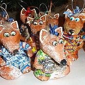 Подарки к праздникам ручной работы. Ярмарка Мастеров - ручная работа Рыжая плутовка из сказочного леса. Handmade.