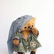 Куклы и игрушки ручной работы. Ярмарка Мастеров - ручная работа Тоффи мишка тедди 23см. Handmade.