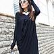 R0031B Вечернее платье Платье черное платья стильное платье длинное платье свободный стиль платье на выход повседневное платье ассиметричное платье дизайнерское плате свободное платье
