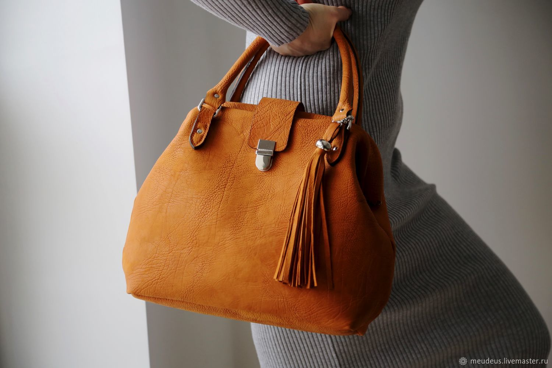 Red art bag. Four hundred sixty seven, Handbags handmade, Moscow, Фото №1