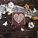 """Свадебные аксессуары ручной работы. Ярмарка Мастеров - ручная работа. Купить Коллекция приглашений на свадьбу """"Молочный шоколад""""! 3 варианта. Handmade."""