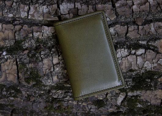 Кошельки и визитницы ручной работы. Ярмарка Мастеров - ручная работа. Купить Кардхолдер на 12 карт , мужской кожаный кошелек. Handmade.
