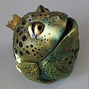 Для дома и интерьера ручной работы. Ярмарка Мастеров - ручная работа царевна лягушка. Handmade.