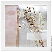 Картины и панно ручной работы. Ярмарка Мастеров - ручная работа Весенние цветочки. Handmade.