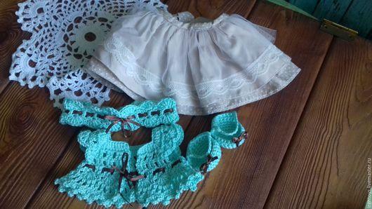 Одежда для кукол ручной работы. Ярмарка Мастеров - ручная работа. Купить одежда для кукол. Handmade. Бирюзовый, ручная работа handmade