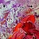 """Картины цветов ручной работы. Заказать """"Большая Маленькая Вселенная"""" картина акриловыми красками. ЯРКИЕ КАРТИНЫ Наталии Ширяевой. Ярмарка Мастеров."""