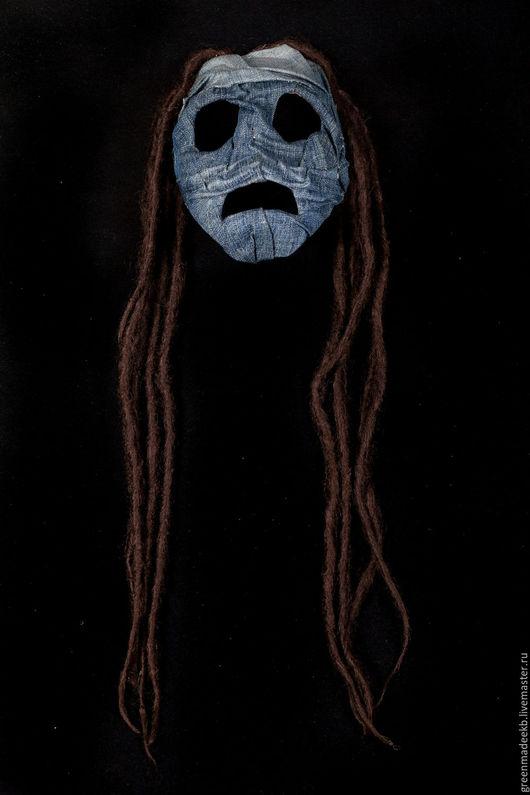 Персональные подарки ручной работы. Ярмарка Мастеров - ручная работа. Купить маска Джинн. Handmade. Комбинированный, Джинсовая ткань