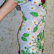 """Одежда ручной работы. Ярмарка Мастеров - ручная работа Платье """"Цветочная поляна"""". Handmade."""