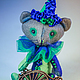 Мишки Тедди ручной работы. мини-котик клоун. Яна Ленгина. Интернет-магазин Ярмарка Мастеров. Котик, авторская игрушка