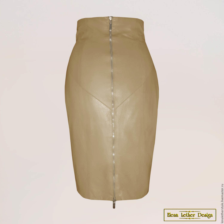 Купить кожаную юбку интернет магазин