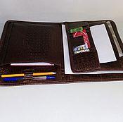 Сумки и аксессуары handmade. Livemaster - original item Folder leather 183 KK. Handmade.