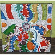 Картины и панно ручной работы. Ярмарка Мастеров - ручная работа ковер. Handmade.