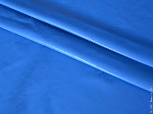 Шитье ручной работы. Ярмарка Мастеров - ручная работа. Купить Синяя натуральная кожа для блокнотов 0,55 мм. Handmade.