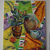 """Картины и панно ручной работы. Ярмарка Мастеров - ручная работа Картина """"Сочное настроение"""". Handmade."""