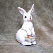 Куклы и игрушки ручной работы. Ярмарка Мастеров - ручная работа Пасхальный заяц. Handmade.