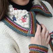 Одежда ручной работы. Ярмарка Мастеров - ручная работа Вязаное пальто 14WJ12. Handmade.
