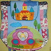 Работы для детей, ручной работы. Ярмарка Мастеров - ручная работа Рюкзак детский Принцесса в карете. Handmade.