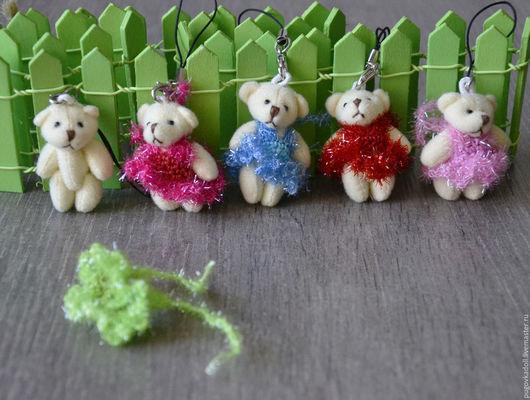 Куклы и игрушки ручной работы. Ярмарка Мастеров - ручная работа. Купить Мишка для игрушек. Handmade. Белый, миниатюра, мишки