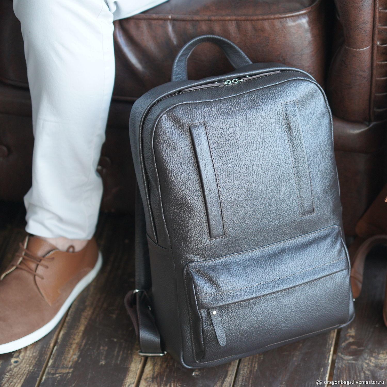 """Рюкзак мужской кожаный """"Salvador"""" (Коричневый), Рюкзаки, Ярославль,  Фото №1"""