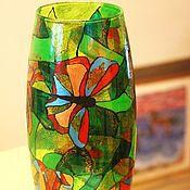"""Для дома и интерьера ручной работы. Ярмарка Мастеров - ручная работа Ваза """"Бабочки"""" № 2. Handmade."""