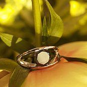 Украшения handmade. Livemaster - original item 17P Black diamond ring 2.5 ct. Handmade.