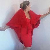 """Одежда ручной работы. Ярмарка Мастеров - ручная работа Болеро-шраг  """"Алая Роза"""". Handmade."""