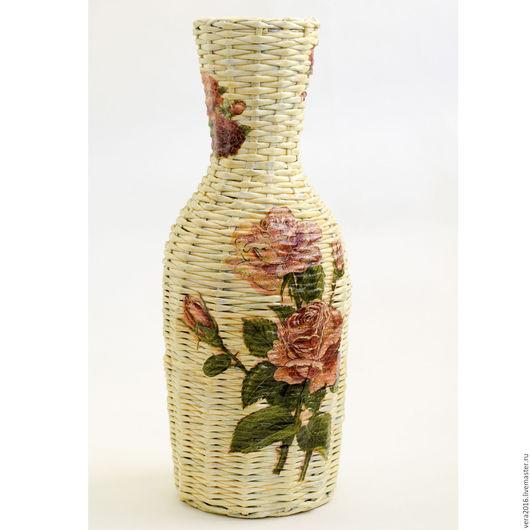 """Вазы ручной работы. Ярмарка Мастеров - ручная работа. Купить Ваза """"Вдохновение"""". Handmade. Ваза, ваза для цветов, Идея для подарка"""