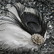 "Свадебный салон ручной работы. Ярмарка Мастеров - ручная работа Свадебный комплект ""Black & White"". Handmade."