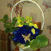"""Подарки к праздникам ручной работы. Ярмарка Мастеров - ручная работа Букет из конфет """"Орхидея"""". Handmade."""