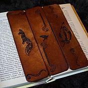 """Закладки ручной работы. Ярмарка Мастеров - ручная работа Закладки для книг """"Символ"""". Handmade."""