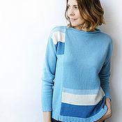 Одежда handmade. Livemaster - original item Cashmere pullover color. Handmade.