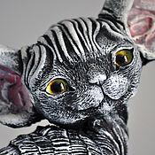 Подарки к праздникам handmade. Livemaster - original item Timothy. Cat Devon Rex.. Handmade.