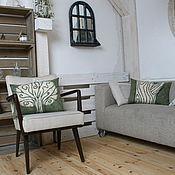 """Для дома и интерьера ручной работы. Ярмарка Мастеров - ручная работа 2 подушки """"Дерево"""". Handmade."""