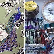 Материалы для творчества ручной работы. Ярмарка Мастеров - ручная работа Набор для вышивки. Handmade.