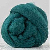 Материалы для творчества handmade. Livemaster - original item Merino wool 18 microns, color-Ireland, Italy, Extra fine, 50 g.. Handmade.