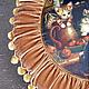 Текстиль, ковры ручной работы. Заказать Подушка КОТЯТА НА КУХНЕ. NatKotler. Ярмарка Мастеров. Круглая подушка, подарок, бархат
