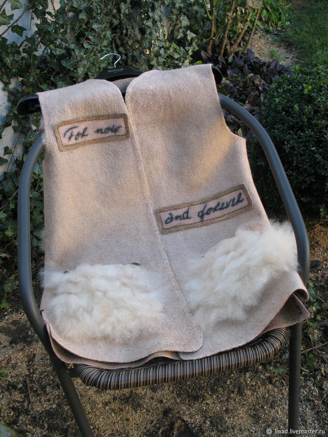 Felted vest ' Now and Forever', Vests, Kherson,  Фото №1