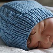 """Работы для детей, ручной работы. Ярмарка Мастеров - ручная работа """" Моя первая шапочка"""". Handmade."""