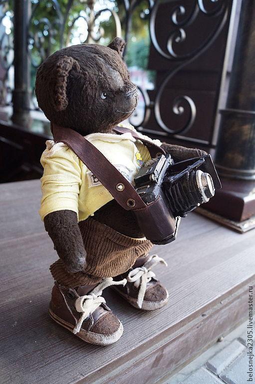 Мишки Тедди ручной работы. Ярмарка Мастеров - ручная работа. Купить мишка тедди Даниэль. Handmade. Тедди, состаренный стиль