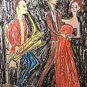 Картины и панно ручной работы. Ярмарка Мастеров - ручная работа Джаз. Handmade.
