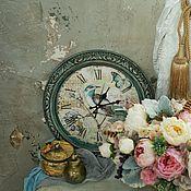Для дома и интерьера ручной работы. Ярмарка Мастеров - ручная работа Часы с птицей. Handmade.