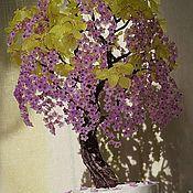Цветы и флористика ручной работы. Ярмарка Мастеров - ручная работа Дерево из бисера. Handmade.